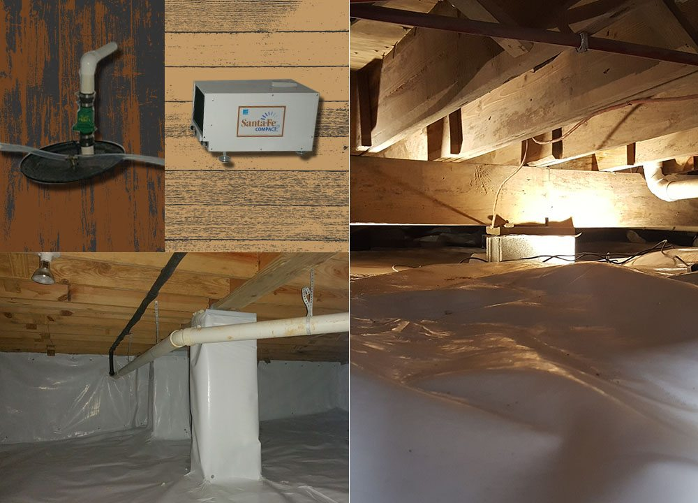 MDH Foundation Repair Crawlspace Encapsulation After