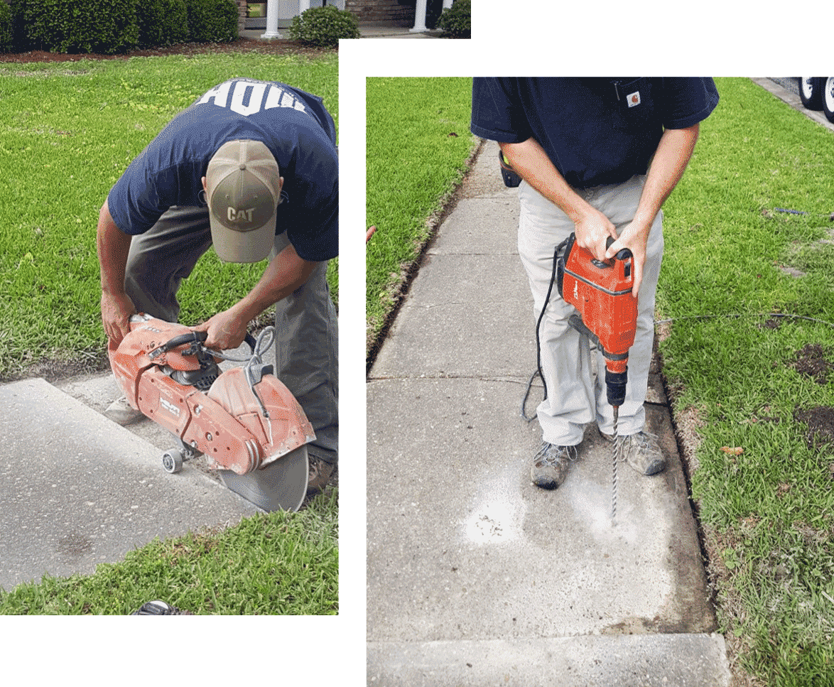 MDH Foundation Repair Concrete Lifting