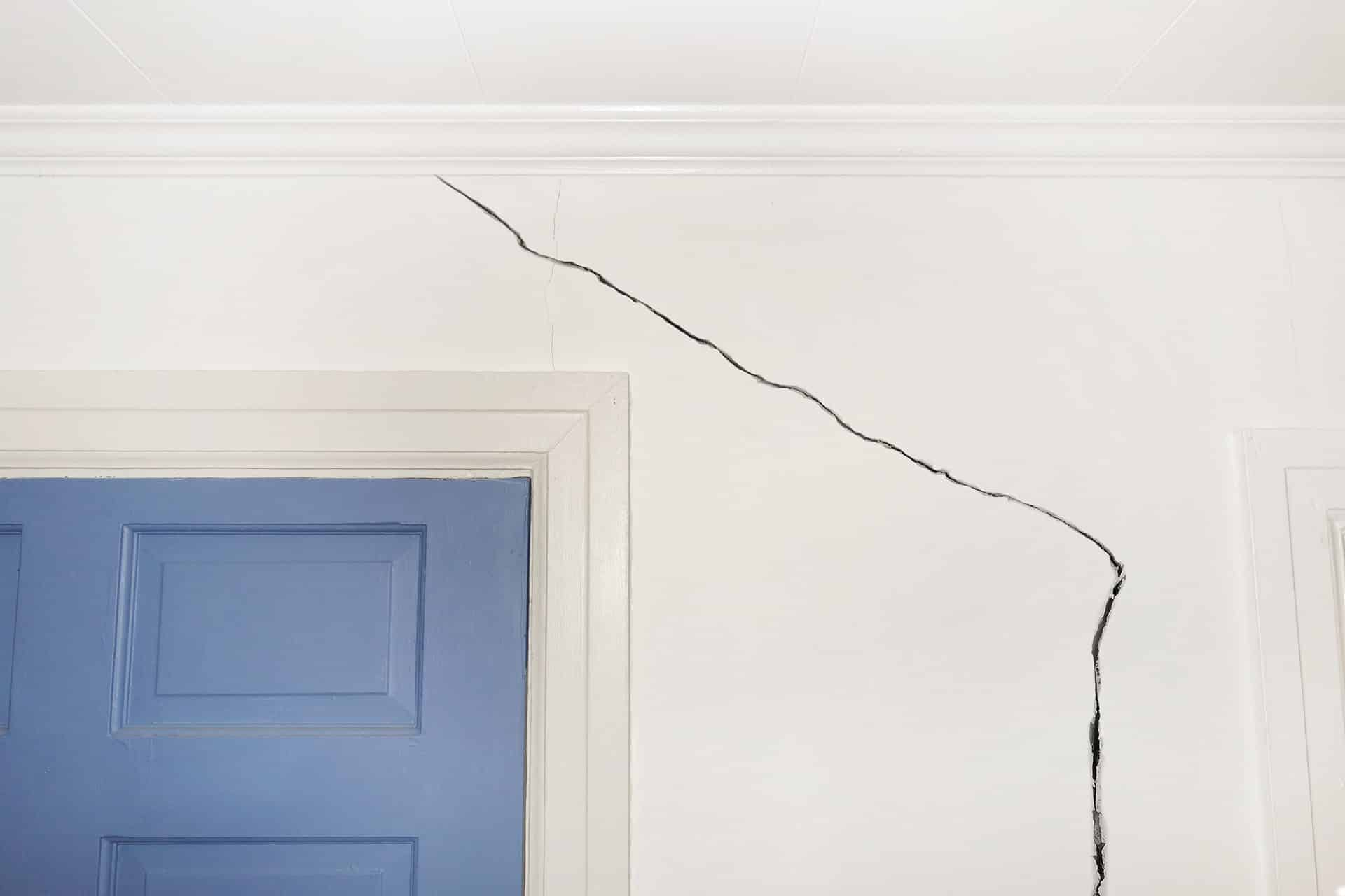Interior Dry Wall Crack