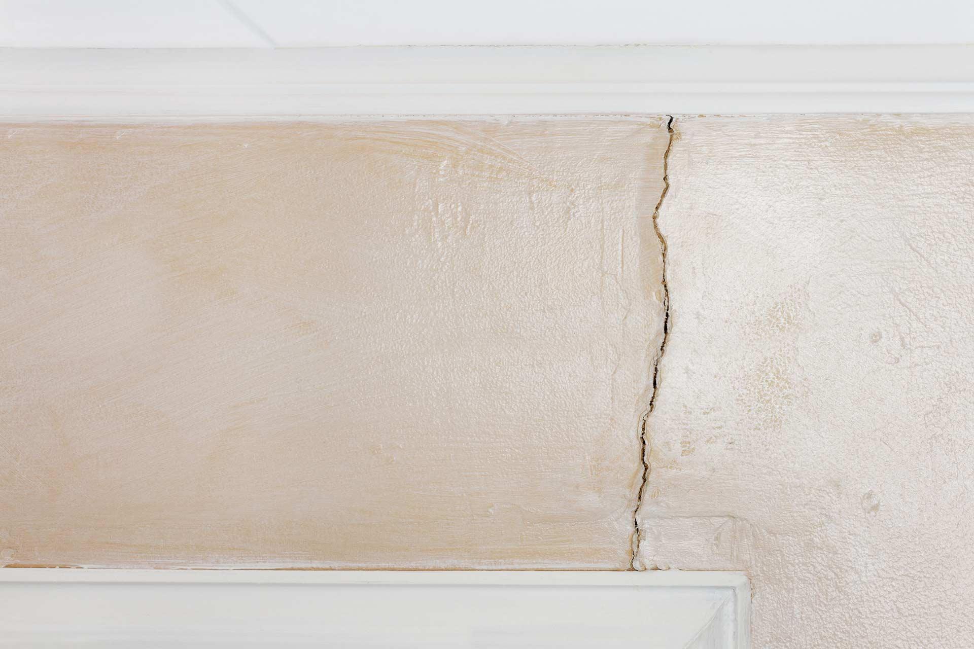 Interior Wall Crack